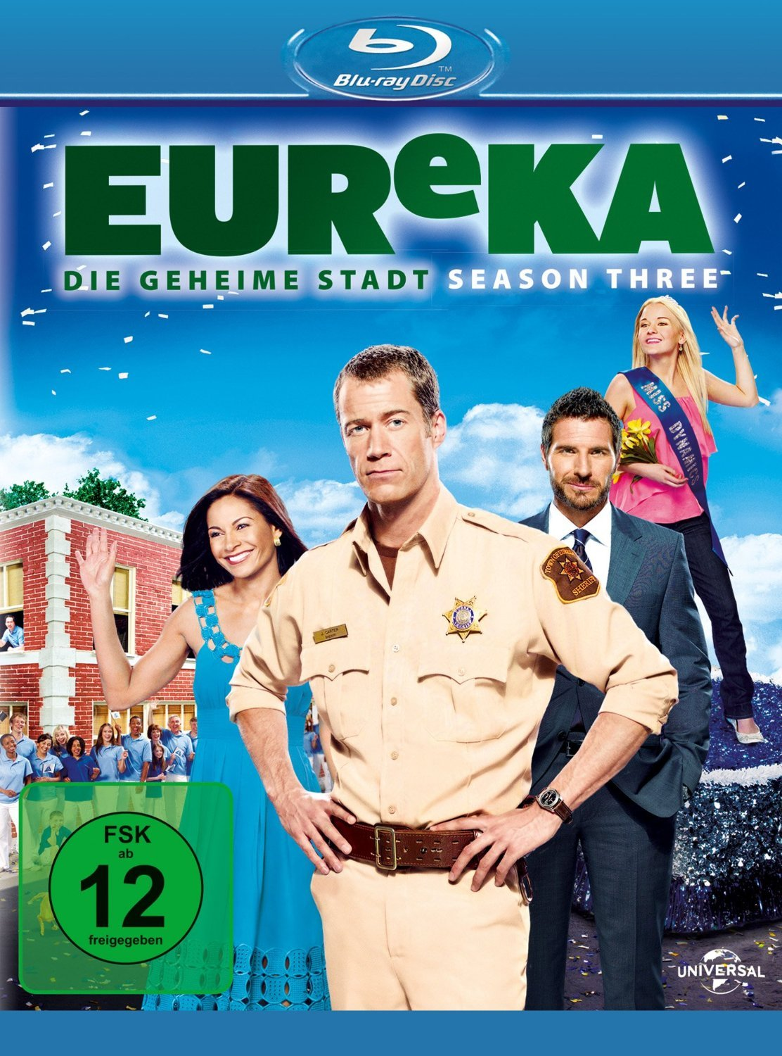 EUReKA - Season 3 [Blu-ray]