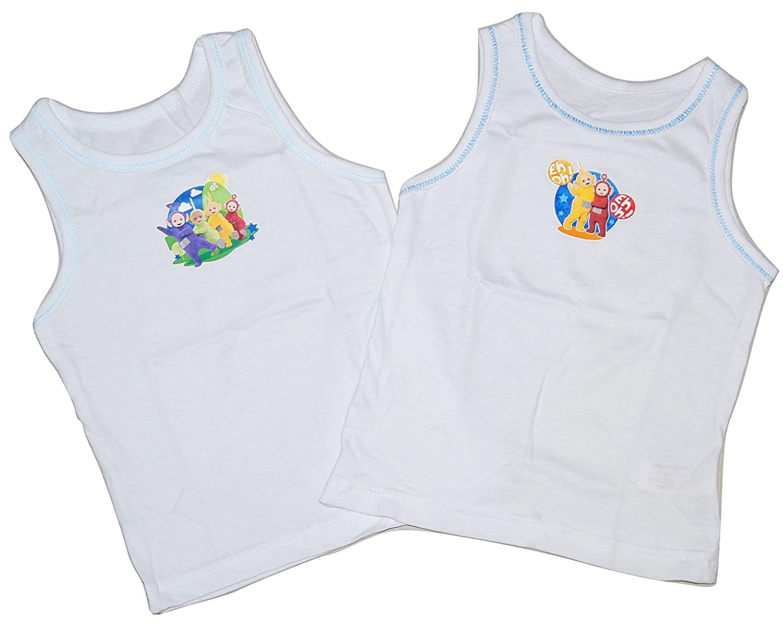 Teletubbies Boys Vests 2 Pack