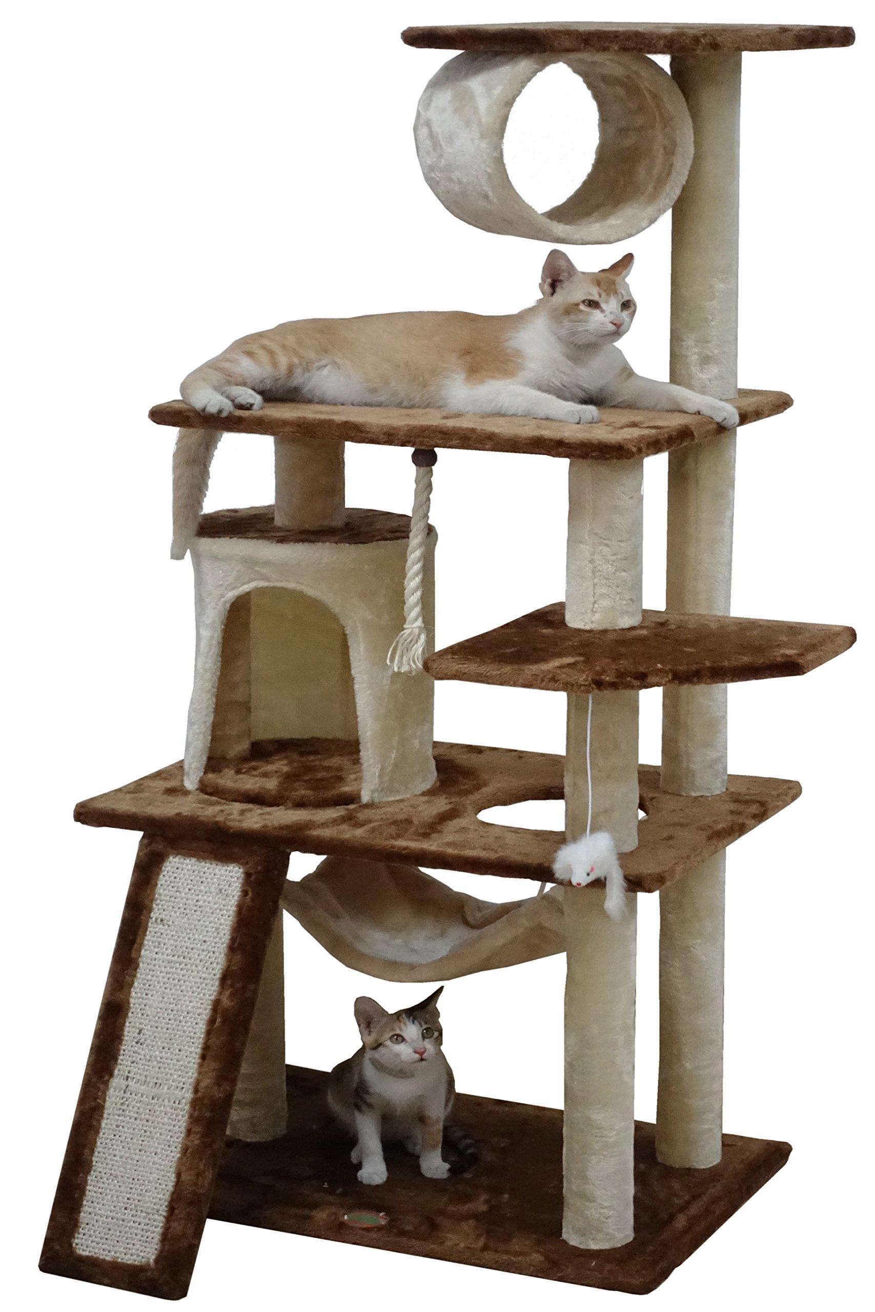 Go Pet Club F712 53'' Kitten Tree by Go Pet Club
