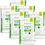 Simpleaf Flushable Wet Wipes | Eco- Friendly, Paraben & Alcohol Free