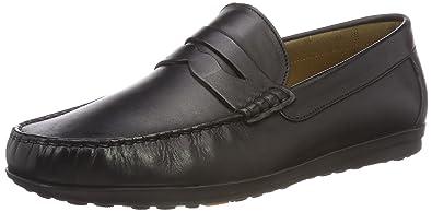 BATA 8546127, Mocassins Homme - Noir - Noir (Nero 6), 45 EU EU