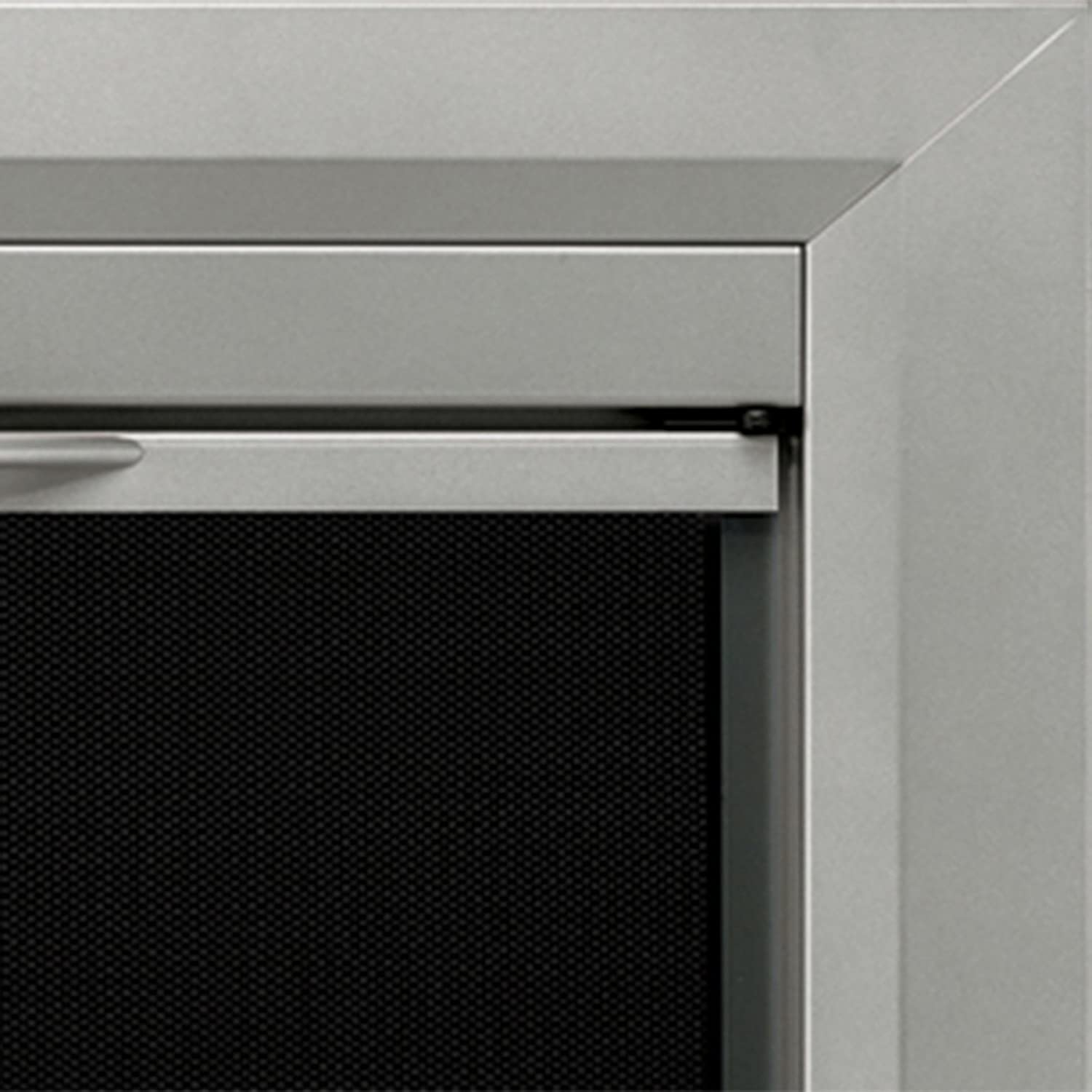 amazon com pleasant hearth cb 3300 colby fireplace glass door