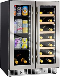 "N'FINITY PRO HDX by Wine Enthusiast 24"" Wine and Beverage Center"