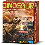 4M FSG3234 KidzLabs Dig a Dinosaur Velociraptor