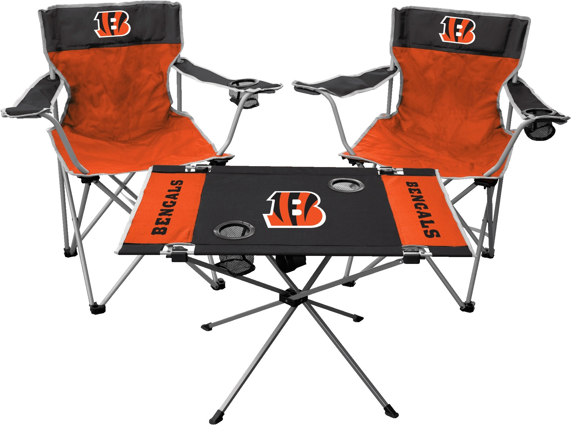 Rawlings NFL Cincinnati Bengals Tailgate Kit, Team Color, One Size