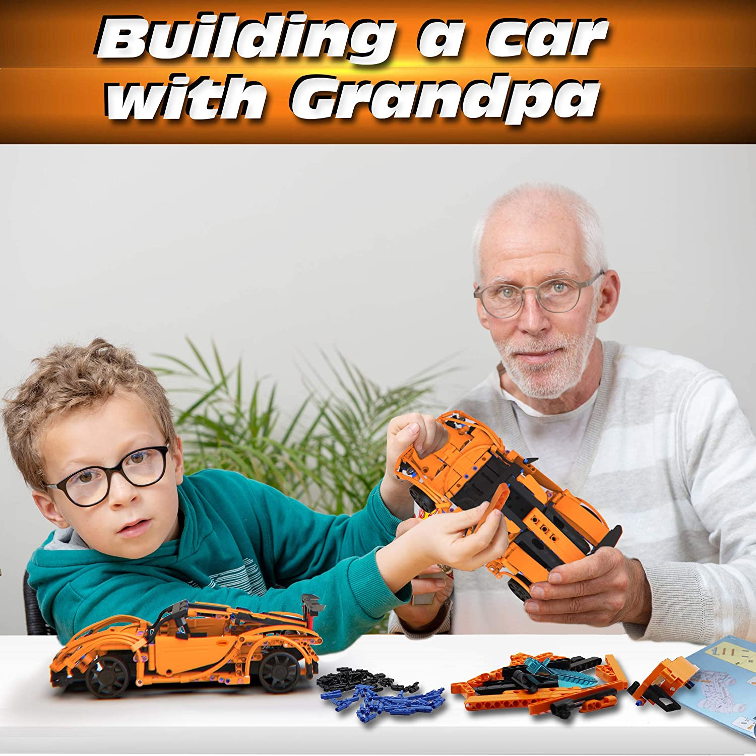 Birthday Toy Gift for 8 421pc Stem Building Sets for Boys 8-12 10 STEM Remote Control Car Building Kit 9 11 WisePlay Build Your Own RC Car Kit for Kids and 12 Year Old Boys