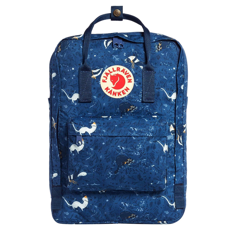Fjallraven – Kanken Art Laptop 15 Special Edition Backpack for Everyday, Blue Fable