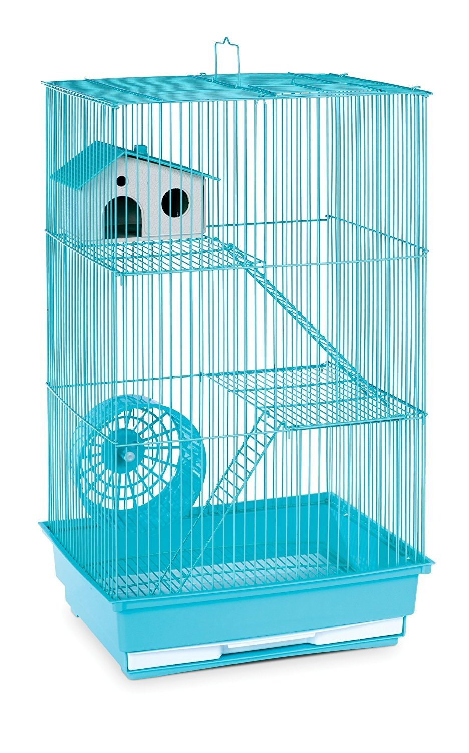 (Mint Green) Prevue Pet Products Three-Story Hamster & Gerbil Cage