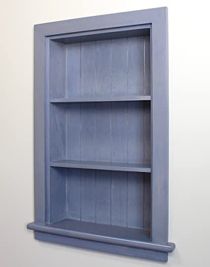 Charmant The Concealed Cabinet By Iinnovators 14x24 Gray Recessed Wall Niche By Fox  Hollow Furnishings   (