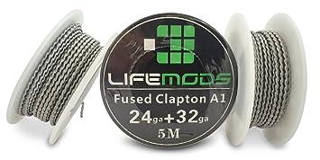 LifeMods Fusing Clapton hitzebeständig A1 Draht Spule AWG 24/32 ...