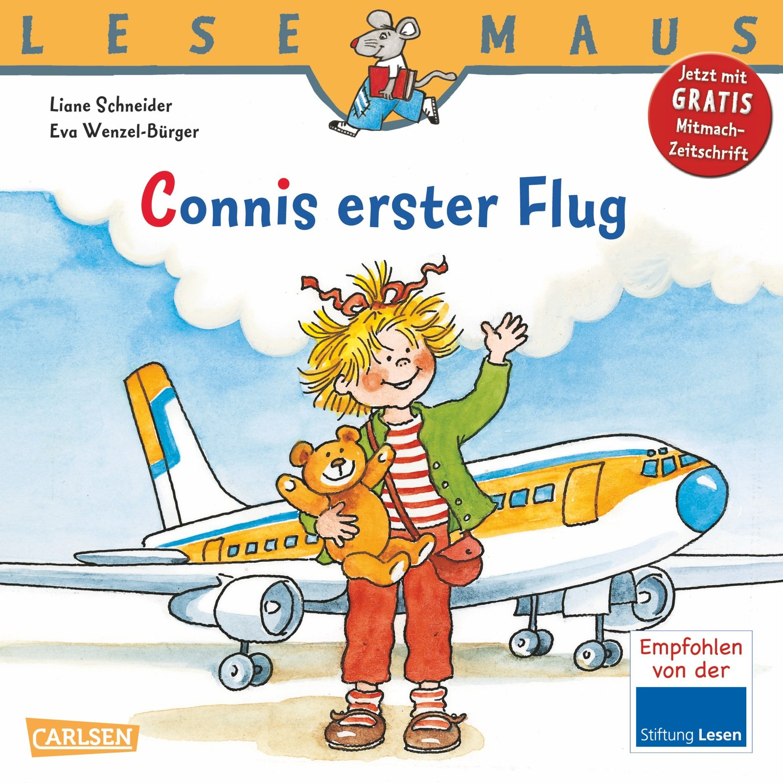 LESEMAUS, Band 91: Connis erster Flug