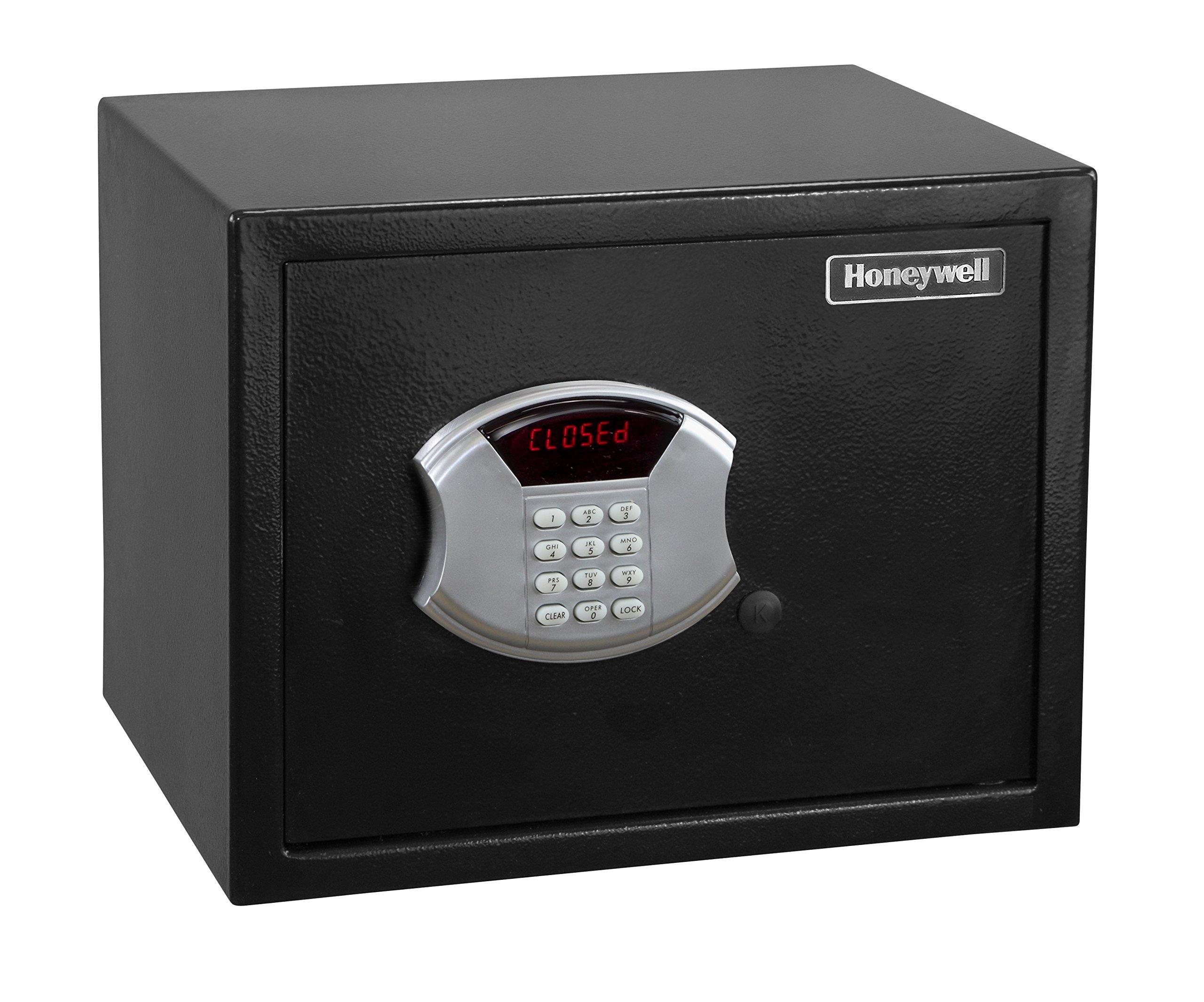 Honeywell 5103 Medium Steel Security Safe with Digital Lock, 0.83-Cubic Feet, Black