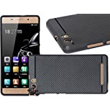 Jkobi 360* Protection Premium Dotted Designed Soft Rubberised Back Case Cover For Gionee Marathon M5 Lite -Black