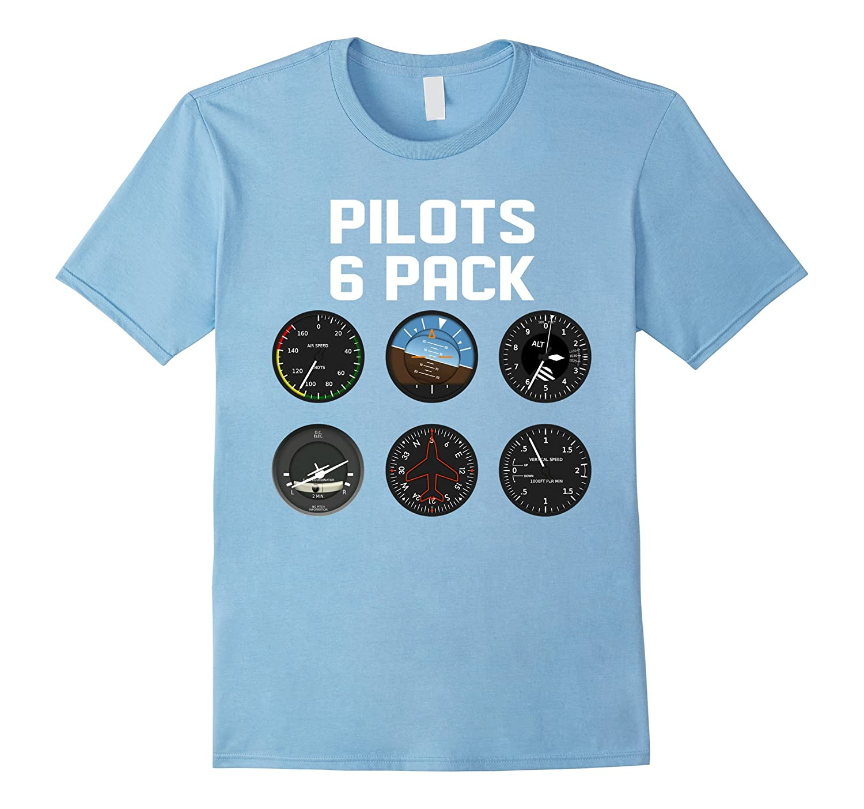 aviation day 2017 tshirt pilots six pack