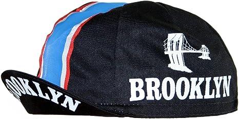 Gorra de ciclismo de Brooklyn, negro: Amazon.es: Deportes y aire ...