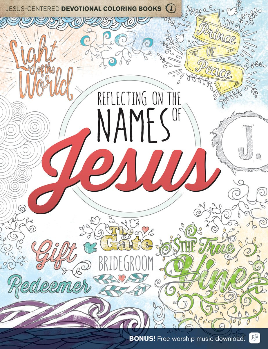 Amazon Com Reflecting On The Names Of Jesus Jesus Centered