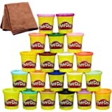 Play-Doh Super Color 20-Pack with Cleaning Cloth