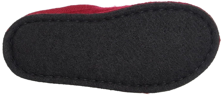 Haflinger Unisex-Erwachsene Unisex-Erwachsene Haflinger Flair Sassy Pantoffeln Rot (Ziegelrot) 24681b