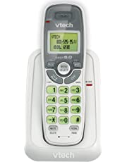 Vtech Dect 6.0 Single Handset Cordless Phone with Caller ID, Green Backlit Keypad and Display - 8077180105