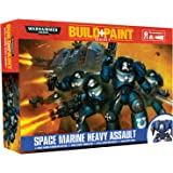 Revell Revell00080 Warhammer 40000 Space Marine Heavy Assault Build and Paint Set