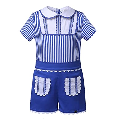 Lajinirr Little Boys Raya Azul con Traje Corto Traje: Amazon ...
