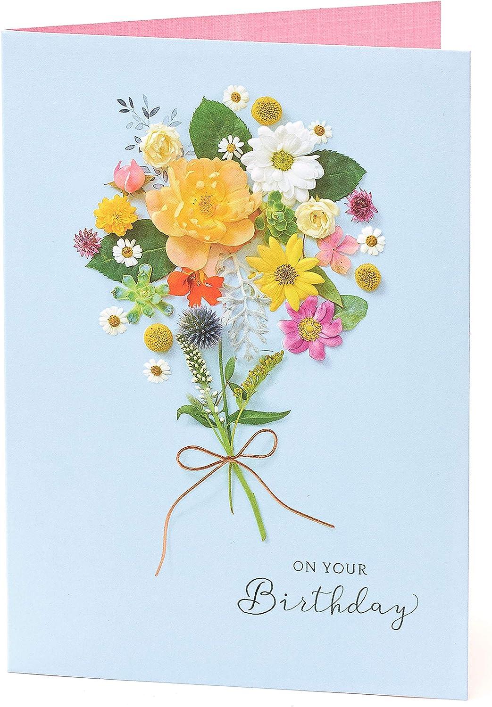 Gibson Flower Birthday Card