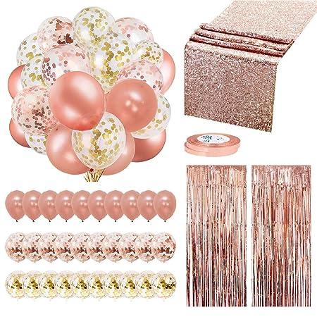 Rose Gold Decoration Set