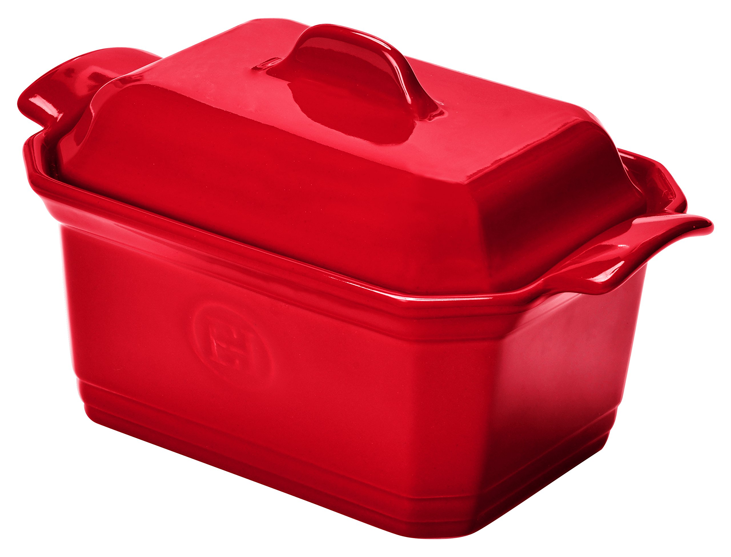 Emile Henry 349706 France Ovenware Terrine & Press, Small, Burgundy by Emile Henry