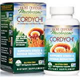 Host Defense, CordyChi Capsules, Helps Reduce Stress and Fatigue, Mushroom Supplement with Cordyceps and Reishi, Vegan…