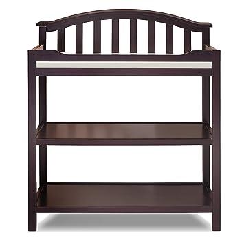 Amazon Com Sorelle Berkley Dressing Table Espresso Baby