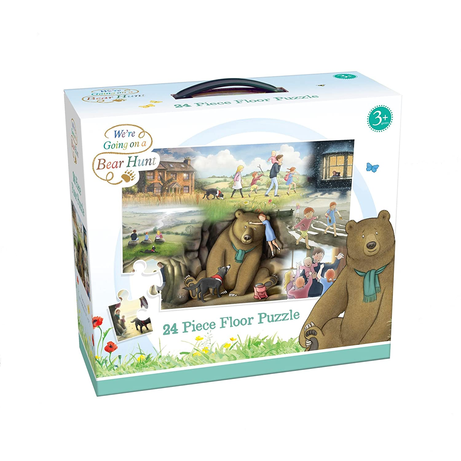 4 in 1 Jigsaw Puzzle Paul Lamond Games We Are Going on a Bear Hunt