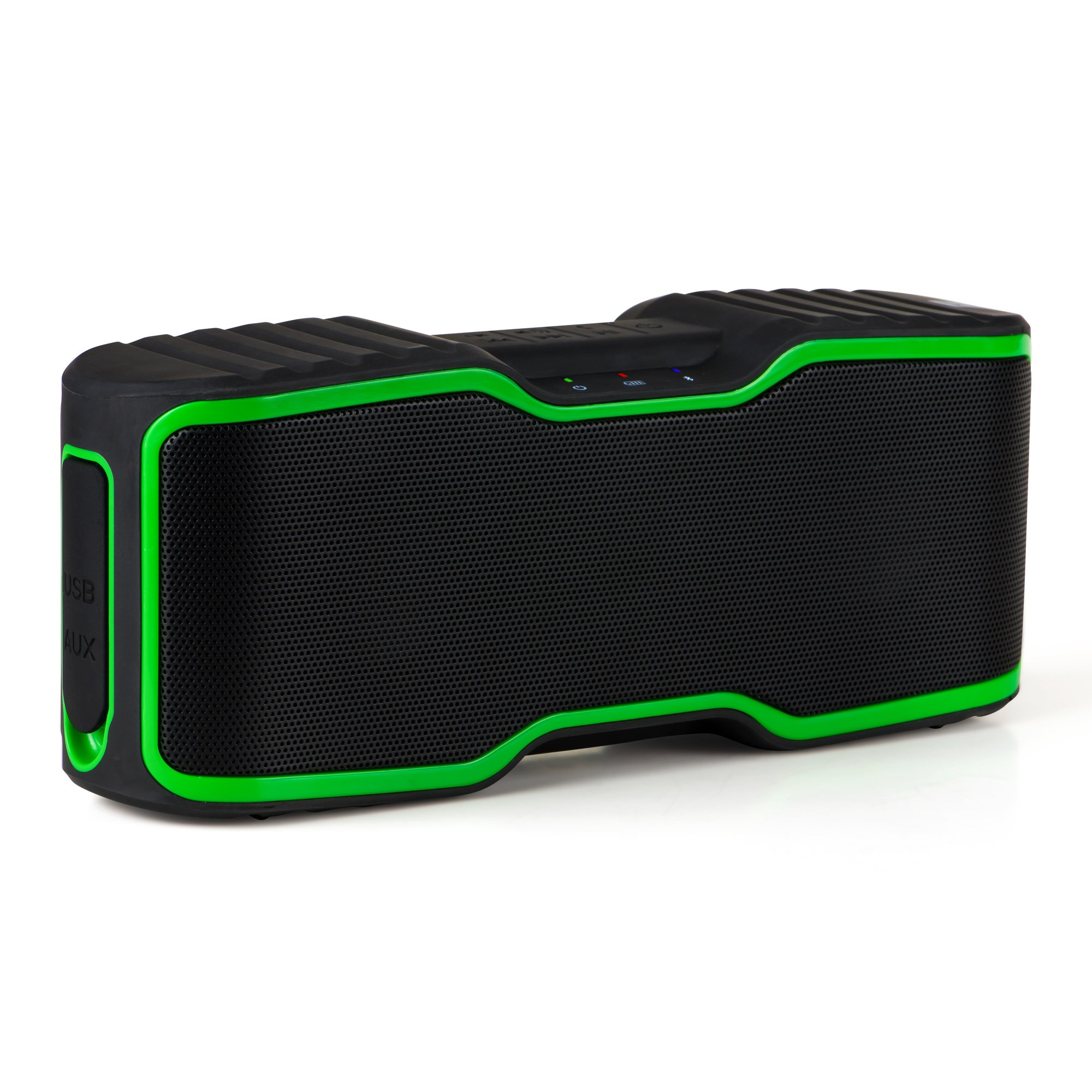 Port Wireless Waterproof Bluetooth Stereo Speaker for Thumbing Bass&Powerful 20W Sound|Durable & Portable for Underwater/Outdoor Adventures,Pair Up with iPhone, Android Cell Phone,iPad, iPod, Echo Dot