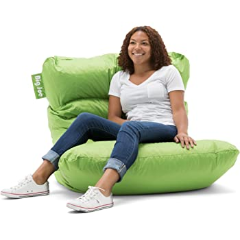 Amazon Com Big Joe Roma Bean Bag Chair Spicy Lime