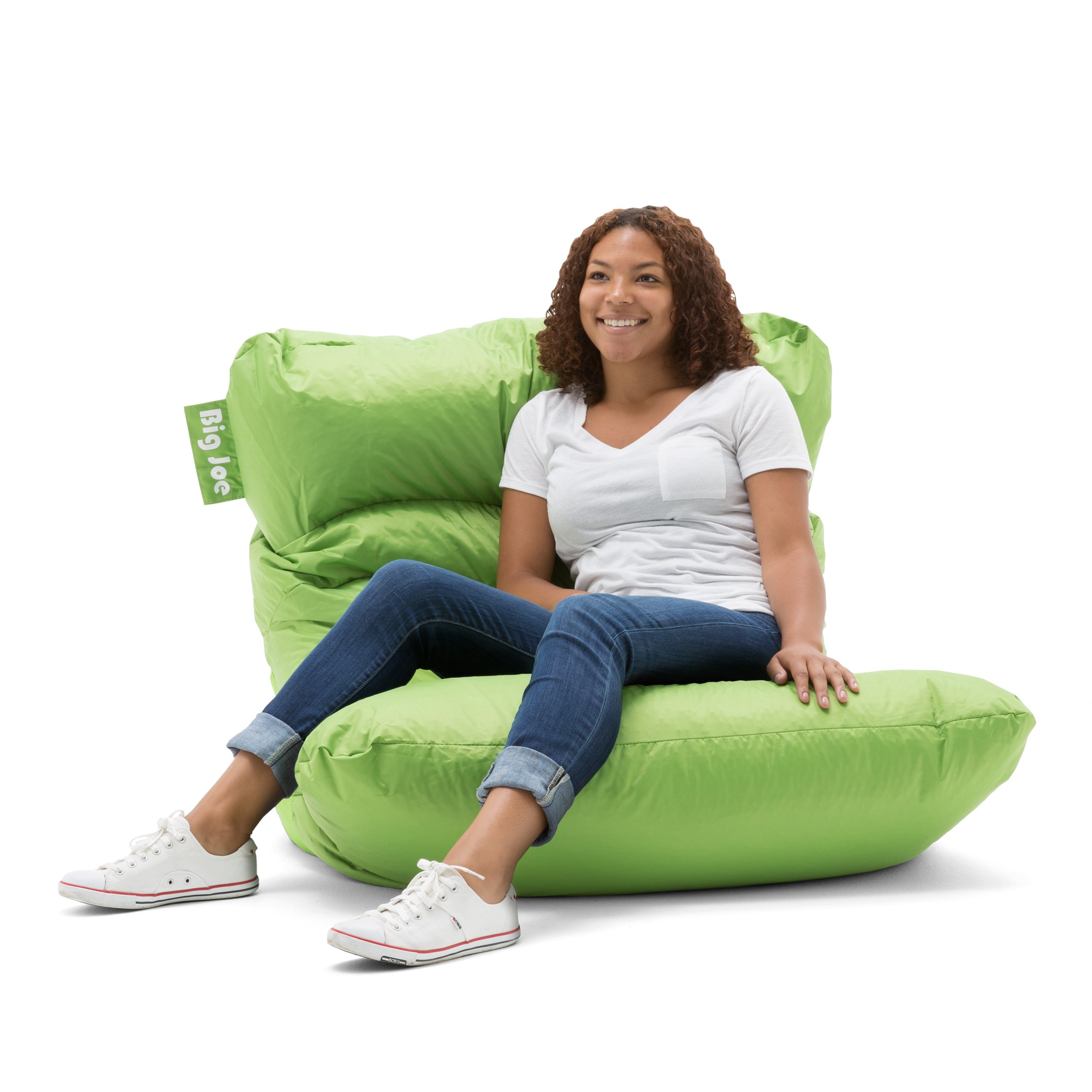 Big Joe Roma Bean Bag Chair, Spicy Lime by Big Joe