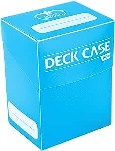 Ultimate Guard Deck Case 80+ Caja de Cartas Tamaño Estándar Azul Celeste: Amazon.es: Juguetes y juegos