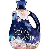 Downy Infusions Liquid Fabric Softener, Romantic, White Tea & Peony 2.4 Liter