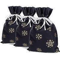 Diarylook Grands sacs cadeaux de Noël (lot de 3)