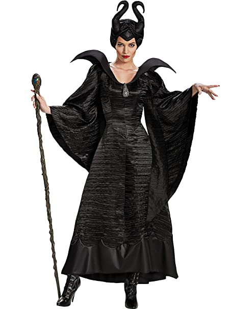 Halloween Costume How To.Disguise Women S Disney Maleficent Black Christening Gown Costume