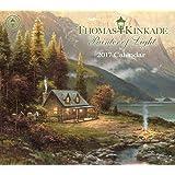 Thomas Kinkade Painter of Light 2017 Deluxe Wall Calendar
