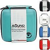 Bose Soundlink Color & Color II Case Mint Luxury Hard Carrying Travel Bag by Soundbass Colour 2