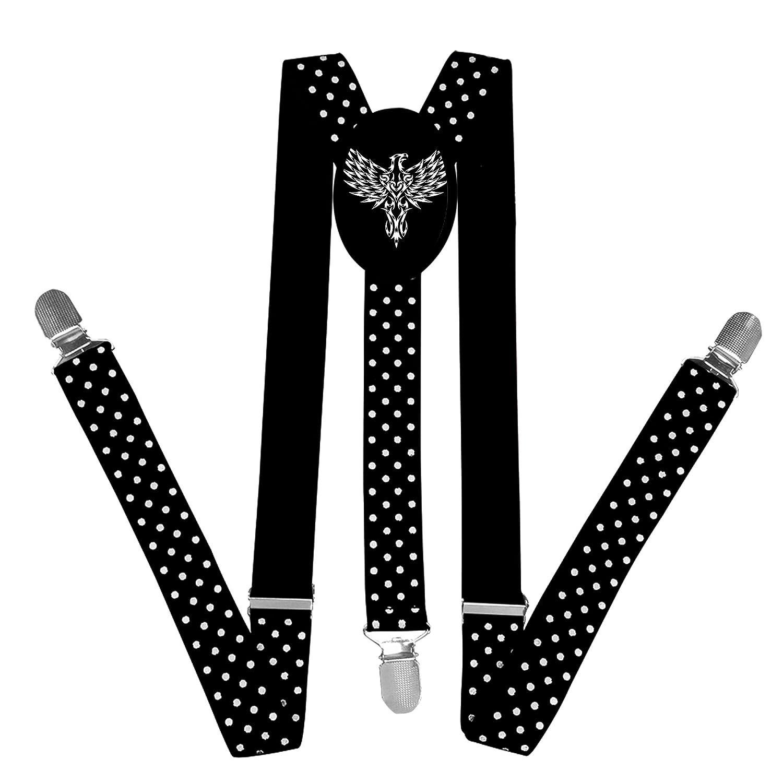 FVSD4VFD15 Nice Unique Nice Tribal Eagle Suspender Unisex Suspender Adjustable Y-Back