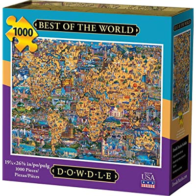 Dowdle Jigsaw Puzzle - Best of The World - 1000 Piece: Toys & Games