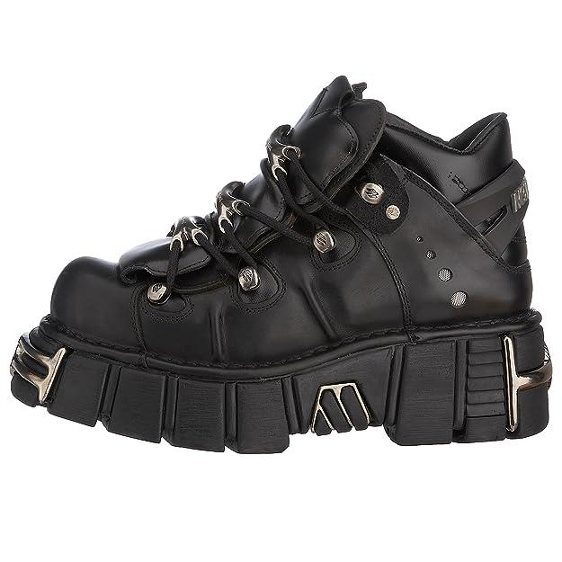 New Rock M.106-s1, Zapatos de Cordones Brogue para Hombre: Amazon.es: Zapatos y complementos