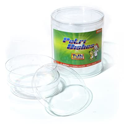 FUN SCIENCE FI-PLG2 Petri Dishes Lab Equipment: Toys & Games