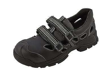 Sandale Euro-sport Walkie Donne Noir S1 + P + Src, Noir, Taille 38