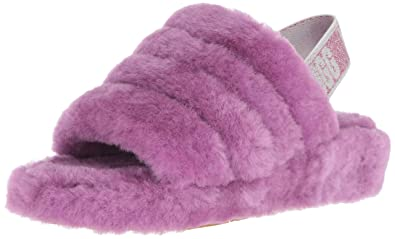 3db08a23c89 UGG Women's W Fluff Yeah Slide Slipper: Amazon.co.uk: Shoes & Bags