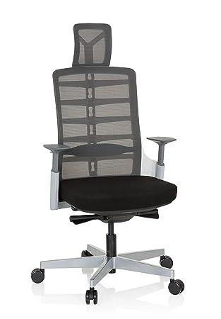 Bürostuhl Schreibtischstuhl Drehstuhl verstellbar Armlehnen CONISTON hjh OFFICE