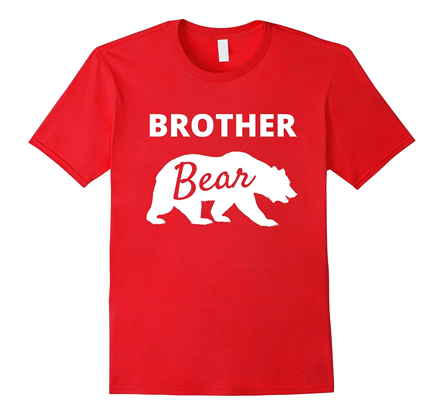 Brother Bear Camping Shirt Family Camping Gift for Men Boys-T-Shirt