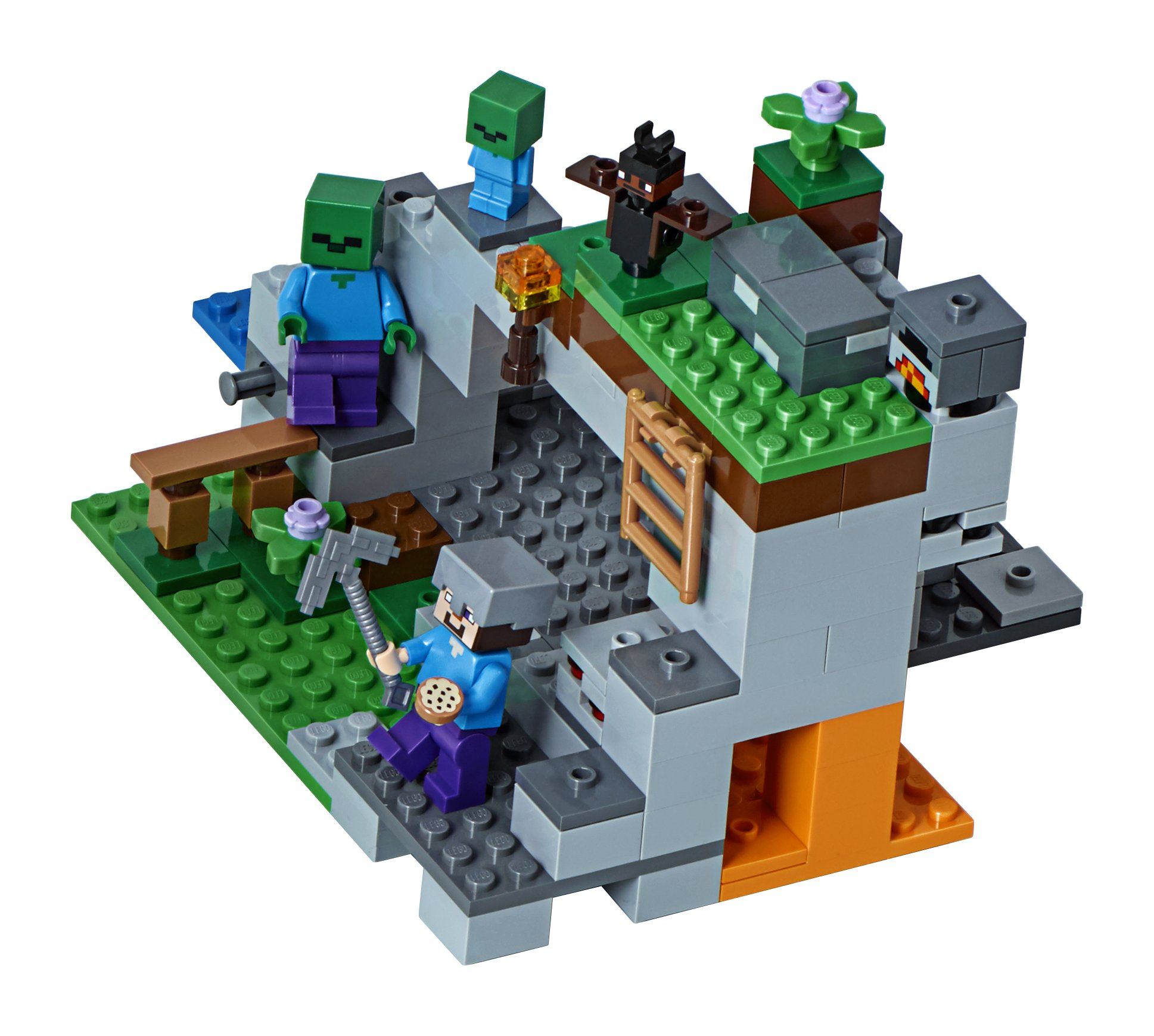 LEGO Minecraft The Zombie Cave 21141 Building Kit (241 Piece) by LEGO (Image #2)