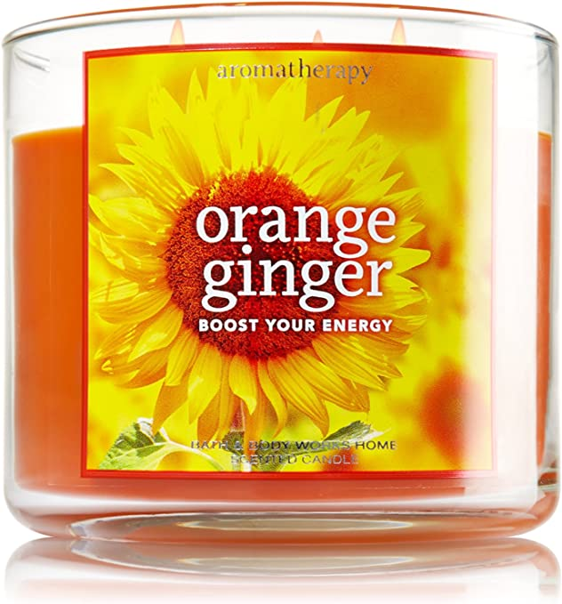 BATH /& BODY WORKS AROMATHERAPY ENERGY SCENTED 3 WICK CANDLE 14.5oz NEW!